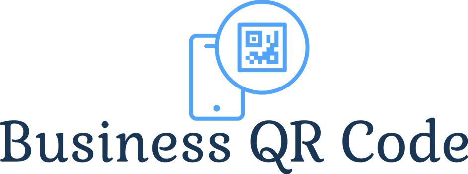 Business card qr code